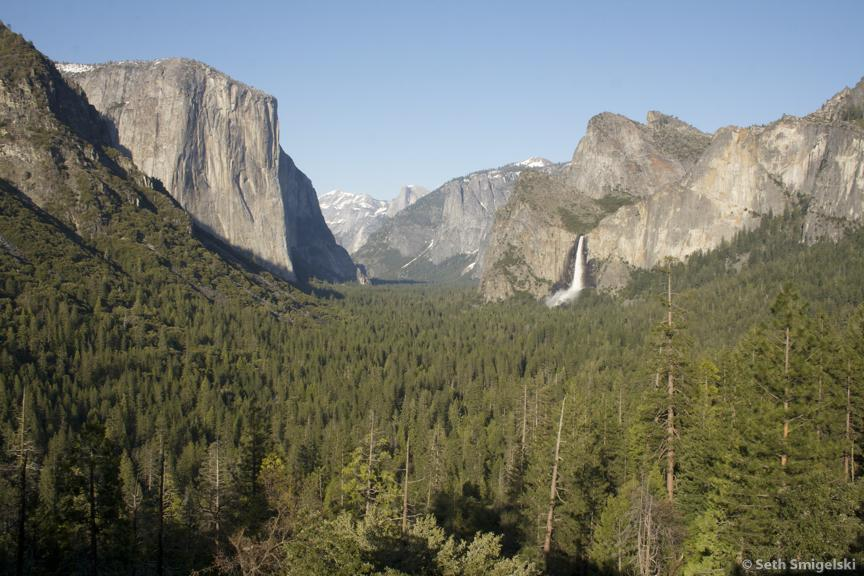 Tunnel View Yosemite National Park classic landscape Seth Smigelski outdoor photography