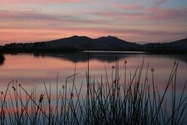 Laguna Lake Sunset San Luis Obispo