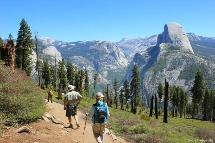 Panorama Trail in Yosemite National Park